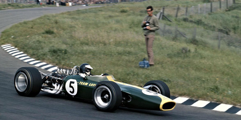heel tread lotus 49 Clark
