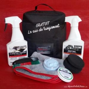 Les meilleurs produits detailing pour le nettoyage auto for Produit nettoyage interieur voiture professionnel