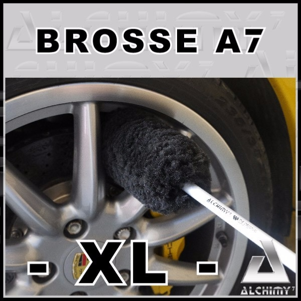 Brosse Jantes a Rayons Ultra Douce