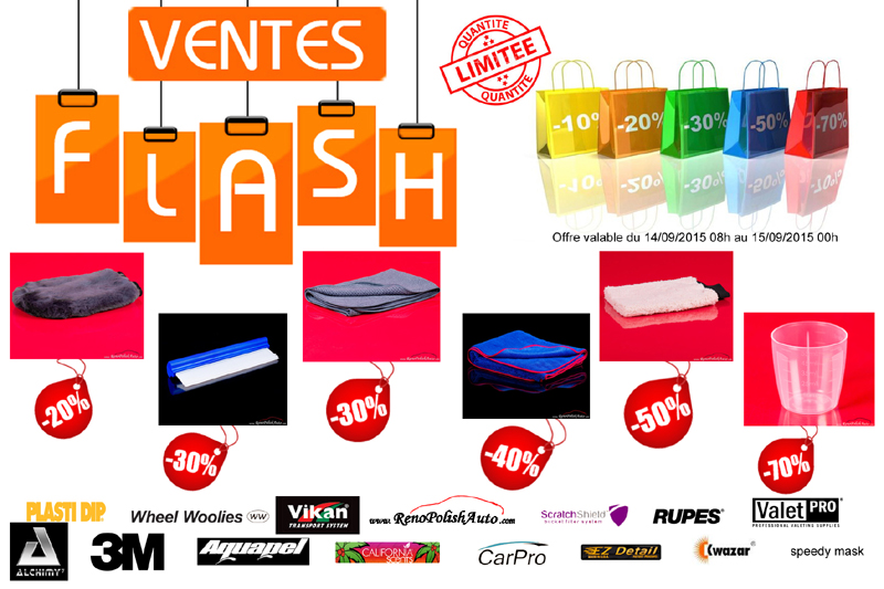 Code de réduction Renopolishauto Ventes flashs 2015