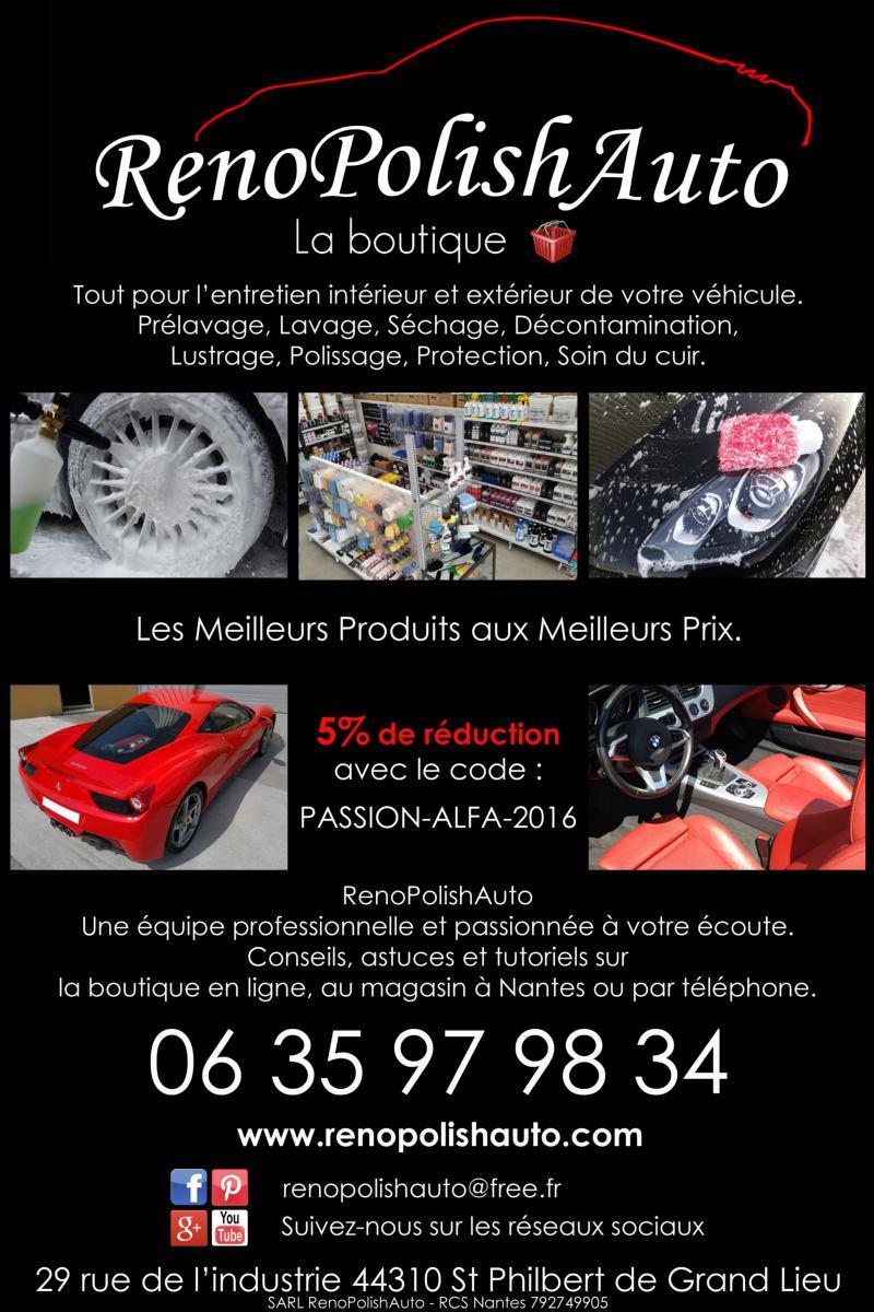 E shop renopolishauto pour vos int rieurs ext rieurs - Code promo la boutique officielle frais de port ...