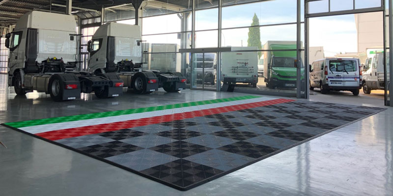 Dalle Showroom Garage IVECO Provence