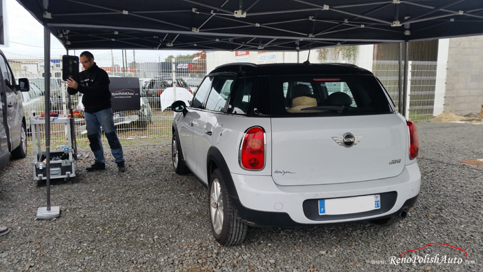 Debosselage sans peinture Nantes DSP 44 RenoPolishAuto Mini Cooper