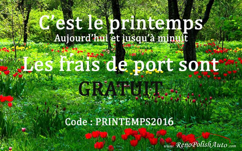 Frais de port gratuits pour le printemps - Code promo 3 suisses frais de port gratuit ...