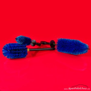 Brosse à jantes EZ Detail Brush + Little + GO EZ